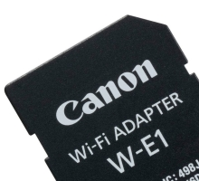 Canon Adapter W-E1 karta Wi-Fi 7D Mark II 5DS 5DSR